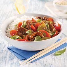 Sauté de boeuf à fondue au basilic - Recettes - Cuisine et nutrition - Pratico Pratique