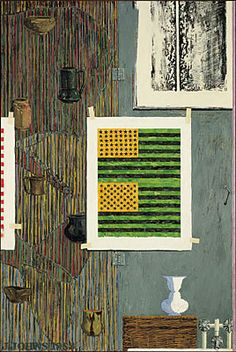 WAC | Visual Arts | Exhibition | Past Things and Present: Jasper Johns Since 1983