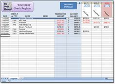 Free Dave Ramsey Excel Spreadsheet To Use As An Envelopes Check