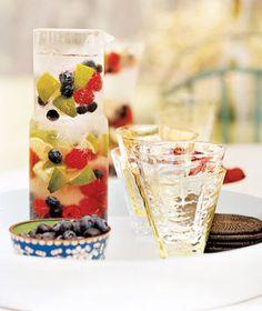 Berry VodkaSpritzer