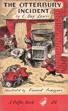 The Otterbury Incident by C. Dai' Lewis, Illustrations by Edward Ardizzone ~Via Carolyn Page Edward Ardizzone, Books To Read, My Books, Day Lewis, Ladybird Books, Children's Book Illustration, Book Illustrations, Vintage Children's Books, Antique Books