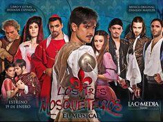 LOS TRES MOSQUETEROS - TEATRO LA COMEDIA 2015 / LUNES 21 HS