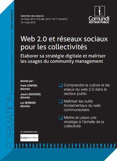"""Notre nouveau programme de formations """"Web 2.0 et réseaux sociaux pour les collectivités"""" est disponible ! #socialmedia"""