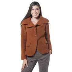 Caterina Lancini, giacca in lana cotta a maniche lunghe con coulisse al collo che permette di arricciarlo come preferisci. La linea è arricchita da due finte taschine con patta. È un modello casual che puoi portare sempre, sia sui jeans che sui pantaloni più classici. Caterina, Qvc, Blazer, Coat, Jeans, Jackets, Women, Fashion, Down Jackets