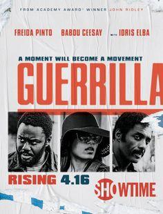 Idris Elba, Babou Ceesay, and Freida Pinto in Guerrilla (2017)