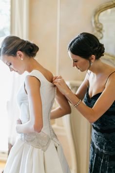 Carolina's Brides: Brigette Becker in the 'Adele' dress