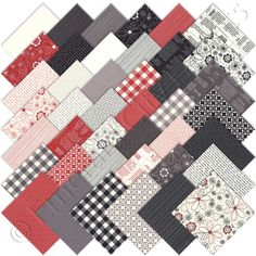 Northport Wovens Charm Pack by Minick /& Simpson; 42-5 Inch Precut Fabric Quilt Squares