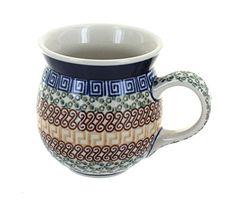 Polish Pottery Athena Bubble Mug -- Want to know more, click on the image.