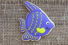 Tropical Fish Sugar Cookies