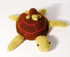 tortuga, amigurumi, crochet, ganchillo, ganxet, chelonia