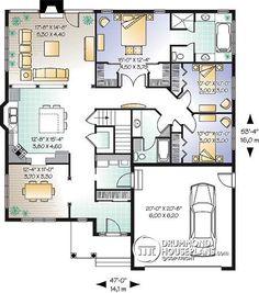 Casa plan W3223