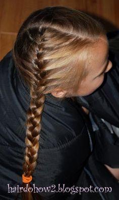 I'm going to braid little girl's hair more often :-)