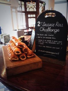 2ft Sausage Roll at the County Arms