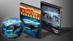 A Ilha Dos Tubarões - Capa | VITRINE - Galeria De Capas - Designer Covers Custom | Capas & Labels Customizados
