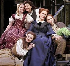 Little Women the Musical - the 4 March sisters and Marmee