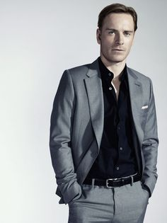 Michael Fassbender. He was really good in X-Men.
