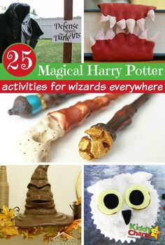 Harry Potter 25 magical Harry Potter activities for wizards everywhere - Are you looking for Harry Potter activities and ideas for the kids at home, or in school? Harry Potter Classes, Harry Potter Party Games, Harry Potter Activities, Cumpleaños Harry Potter, Harry Potter School, Harry Potter Classroom, Theme Harry Potter, Harry Potter Bedroom, Harry Potter Wedding