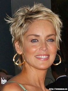 Sharon Stone Hairstyles Short Hair hairstyles brunette The Hottest Short Hairstyles & Haircuts for 2016 Haircuts For Fine Hair, Short Hairstyles For Women, Hairstyles Haircuts, Cool Hairstyles, Short Haircuts, Hairstyle Ideas, Hairstyle Short, Blonde Hairstyles, Wedding Hairstyles