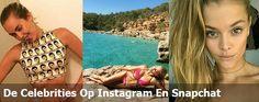 De celebrities op Instagram en Snapchat deze week