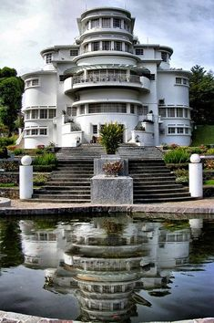Villa Isola in Bandung, Indonesia Bandung City, Dutch East Indies, Castle House, World Cities, Semarang, Famous Places, City Photography, Travel Images, Amazing Destinations