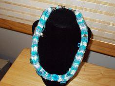 20 yarn and beaded necklace by JoyceBartoli on Etsy, $20.00