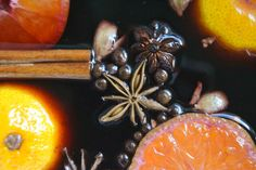 Slow Cooker Mulled Wine ~ this warming winter cocktail scents the whole house, and guests can help themselves!