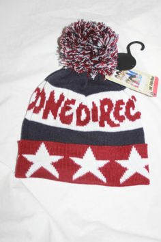 ONE DIRECTION GIRLS HAT Primark 7-13 One Size Bobble Hat - $16.49 http://rover.ebay.com/rover/1/711-53200-19255-0/1?ff3=4&pub=5575074650&toolid=10001&campid=5337444095&customid=1D+Hats&mpre=http%3A%2F%2Fwww.ebay.com%2Fitm%2FONE-DIRECTION-GIRLS-HAT-Primark-7-13-One-Size-Bobble-Hat-1D-NEW-%2F281224907583%3Fpt%3DUK_Hats_Kids%26var%3D%26hash%3Ditem417a4f8b3f