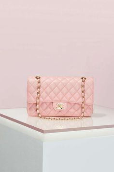 Vintage Chanel 2.55 Pink Caviar Leather Bag | Shop Vintage at Nasty Gal!