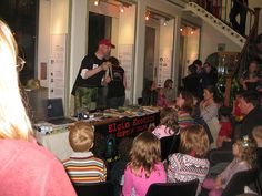 Festival of Museums event at Elgin Museum