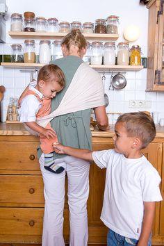 Hausarbeit mit Kind im Tuch? No problem! Housekeeping, Knot, Kids