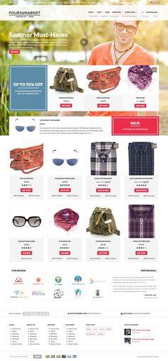 E-Commerce Web Design #ecommerce