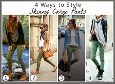 So last week I wrote that Pinterest had been telling me to wear skinny cargo pants. And if Ive...