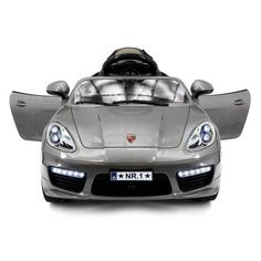 Free Shipping. Buy 2018 Porsche Boxster Style 12V Ride On Car Battery Powered Wheels W/ Dining Table, Leather Seat, LED Lights at Walmart.com
