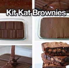 Brownie + Kit Kat