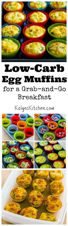 I first posted this easy recipe for Egg Muffins for a Grab-and-Go Breakfast over ten years ago, and since then they've been pinned over 1.6M times. Week after week, this is the most popular recipe on my blog.  (Low-Carb, Keto, Low-Glycemic, Gluten-Free, c