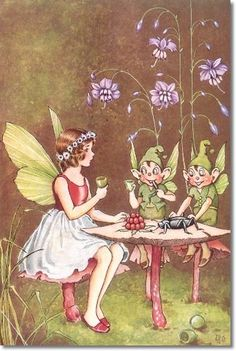 flax lily fairy