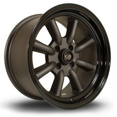 15 ROTA RKR BLACK 8J 4 stud 0 offset alloy wheels