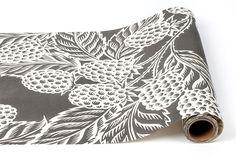 "20"" Blackberry Harvest Paper Runner - Kitchen Papers"