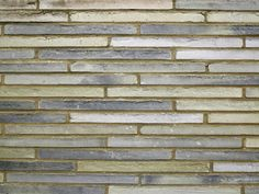 The Kolumba brick by Danish manufacturer Petersen Tegl. This brick has been developed with Peter Zumthor for the Kolumba museum in Cologne and incorporates a full line of bricks in different colors.