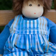 Waldorf Dress Up Doll, Boy, Brown Hair