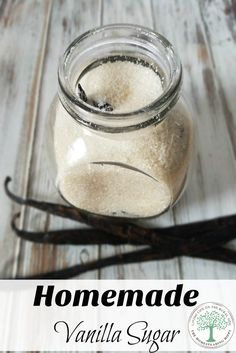 Take your baking, coffee and tea up a notch with this vanilla sugar! Makes a great gift, too! ~The Homesteading Hippy via /homesteadhippy/ Easy Smoothie Recipes, Easy Smoothies, Snack Recipes, Dessert Recipes, Coconut Smoothie, No Sugar Foods, Vanilla Sugar, Homemade Vanilla, Pumpkin Spice Cupcakes