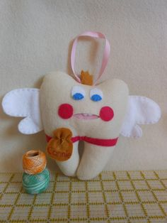 This Princess Felt Tooth Fairy Pillow might seem lame now...But they will thank you when they wake up to money in the morning!