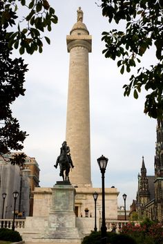 "In Maryland there's the ""other"" Washington Monument, located in downtown Baltimore. #Maryland"