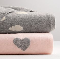 Luxe Cashmere Stroller Blanket at Restoration Hardware Baby & Child Jogging Stroller, Stroller Blanket, Pink Grey, Pink Color, Blush Pink, Purple, Luxury Nursery, Restoration Hardware Baby, Baby Love