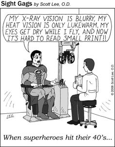 Everyone needs regular eye exams!
