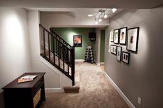 Foxgate Basement Renovation - contemporary - basement - cincinnati - Ryan Duebber Architect, LLC