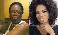 Oprah before and after makeup. Born: 29 January, 1954 Citizenship: Mississippi, U. Occupation: Former host of The Oprah Winfrey Show Chairwoman and CEO of Harpo Productions Chairwoman Nicki Minaj Without Makeup, Celebs Without Makeup, Makeup Before And After, Makeover Before And After, Beauty Makeover, Makeup Makeover, Oprah Winfrey Show, Kylie Jenner Makeup, Celebrities Before And After