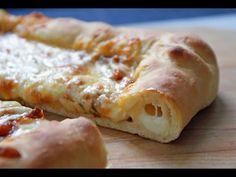 Cheesy Stuffed Crust Pizza | One Pot Chef - YouTube