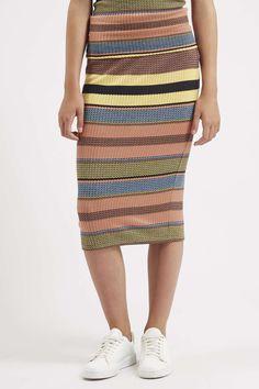 Photo 3 of Ribbed Stripe Tube Skirt