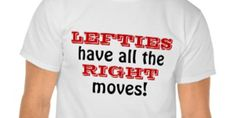 Left-Handed T-Shirts: Great Gift Ideas